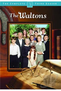 Waltons - The Complete Third Season DVD Cover Art