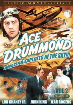 Ace Drummond: Amazing Exploits in the Sky Vol 2. Chapters 7-13 DVD Cover Art