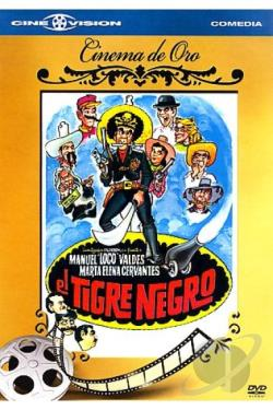 Tigre Negro DVD Cover Art