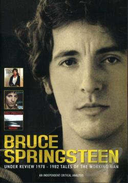 Bruce Spingsteen - Under Review 1978-1982: Tales of the Working Man DVD Cover Art