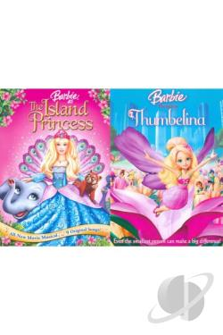 Barbie as the Island Princess/Barbie Presents: Thumbelina DVD Cover Art