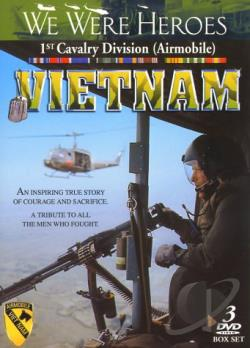 We Were Heroes: Vietnam DVD Cover Art