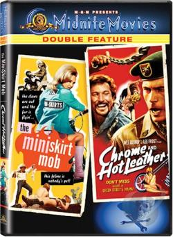Mini-Skirt Mob/Chrome and Hot Leather DVD Cover Art
