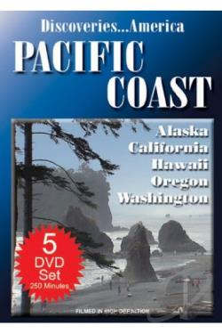 Discoveries... America: Pacific Coast States Collection DVD Cover Art