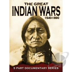 Great Indian Wars 1540-1890 DVD Cover Art