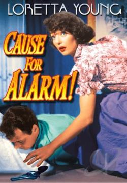 Cause for Alarm DVD Cover Art