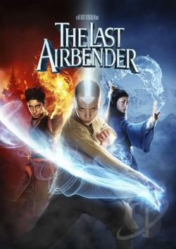 Last Airbender DVD Cover Art