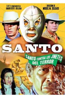 Santo Vs. The Riders of Terror DVD Cover Art