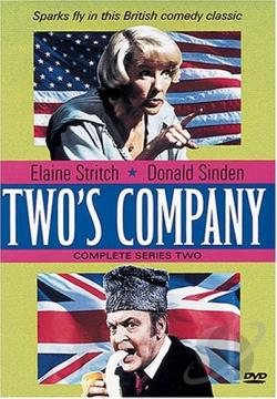 Two's Company Complete Series 2 DVD Cover Art