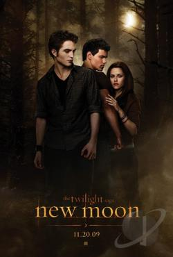 Twilight Saga: New Moon DVD Cover Art