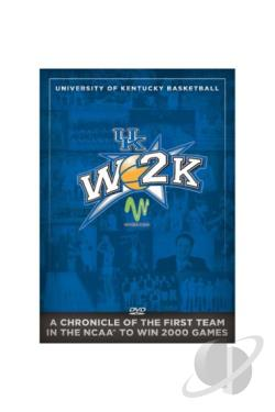 University of Kentucky Basketball: W2K DVD Cover Art