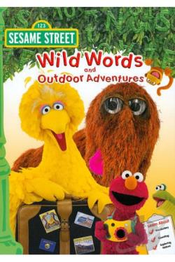 Sesame Street: Wild Words and Outdoor Adventures DVD Cover Art