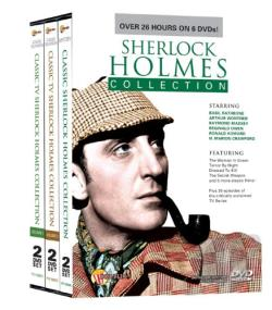 Classic Sherlock Holmes Collection DVD Cover Art