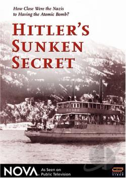 Nova - Hitler's Sunken Secret DVD Cover Art