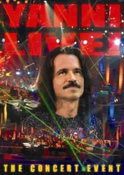 Yanni - Live: The Concert Event DVD Cover Art