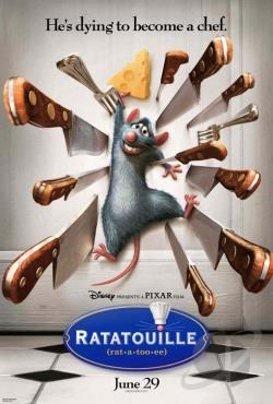 Ratatouille DVD Cover Art
