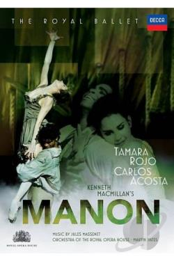 Manon DVD Cover Art