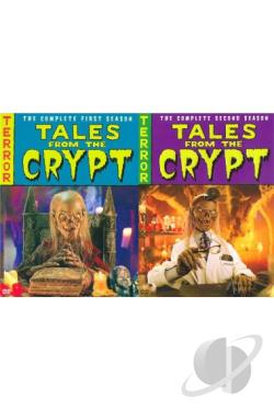 Tales from the Crypt - The Complete Seasons 1 & 2 DVD Cover Art