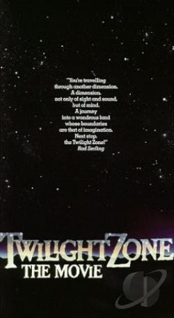 Twilight Zone: The Movie VHS Cover Art