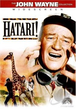 Hatari! DVD Cover Art