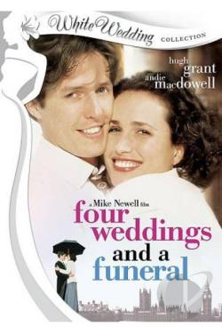 Four Weddings and a Funeral DVD Cover Art