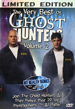 Very Best Of Ghost Hunters Vol. 2 DVD Cover Art