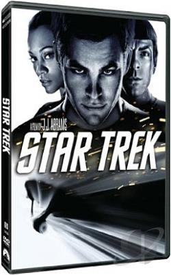 Star Trek DVD Cover Art