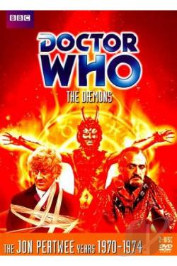 Doctor Who - The Daemons DVD Cover Art
