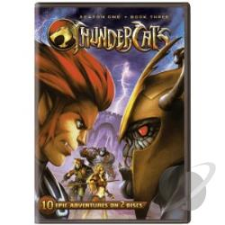 Thundercats: Season One - Book Three DVD Cover Art