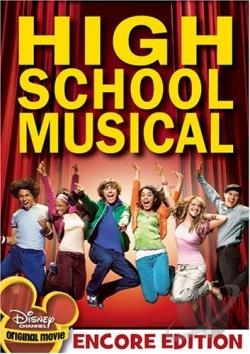 High School Musical DVD Cover Art