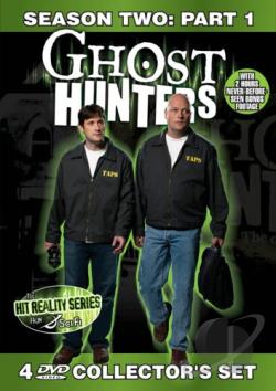 Ghost Hunters - Second Season: Part 1 DVD Cover Art