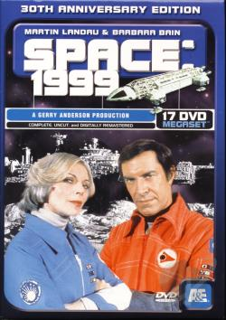 Space 1999: Megaset DVD Cover Art