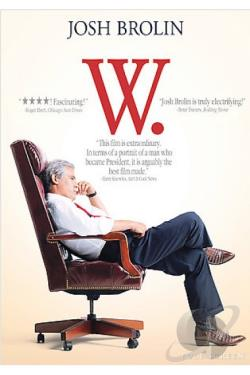 W. DVD Cover Art