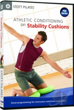 Stott Pilates: Athletic Conditioning on Stability Cushions DVD Cover Art
