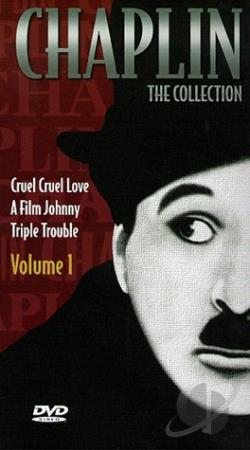 Chaplin The Collection: Volume 1 DVD Cover Art