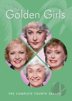 Golden Girls - The Complete Fourth Season DVD Cover Art