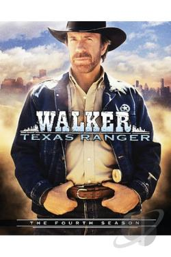 Walker Texas Ranger - The Complete Fourth Season DVD Cover Art