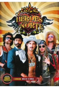 Los Heroes del Norte DVD Cover Art