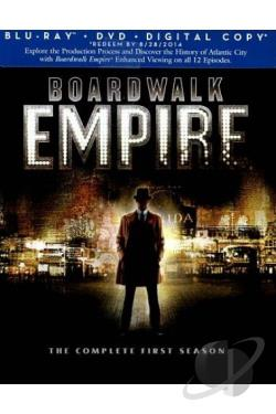 Boardwalk Empire - The Complete First Season BRAY Cover Art