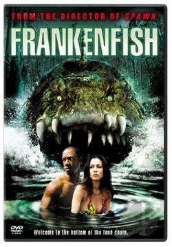 Frankenfish DVD Cover Art
