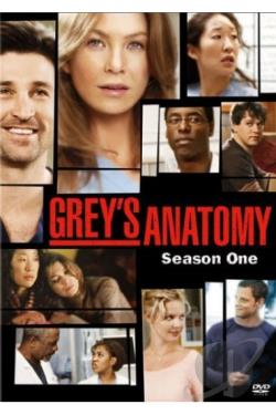 Grey's Anatomy - The Complete First Season DVD Cover Art