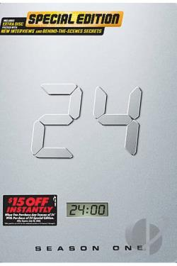 24 - Season 1 DVD Cover Art