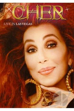 Cher: Live In Las Vegas DVD Cover Art