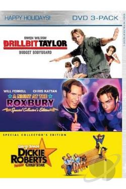 Drillbit Taylor/A Night at the Roxbury/Dickie Roberts: Former Child Star DVD Cover Art