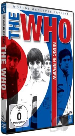 Music in Review: World's Greatest Artists - The Who DVD Cover Art