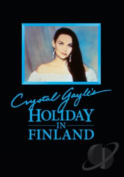Crystal Gayle's Vacation in Finland DVD Cover Art