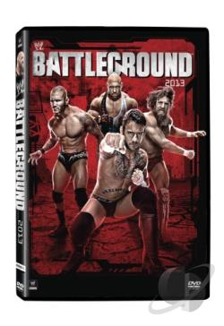 WWE: Battleground 2013 DVD Cover Art