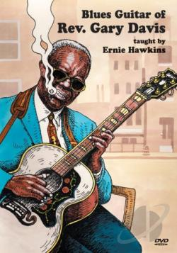 Blues Guitar of Rev. Gary Davis DVD Cover Art
