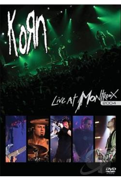 Korn - Live At Montreux 2004 DVD Cover Art