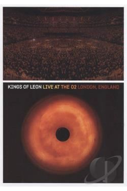 Kings of Leon: Live at the O2 DVD Cover Art